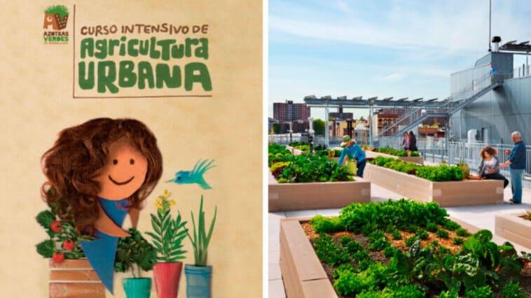 Curso Intensivo de Agricultura Urbana PDF - Cultivando Flores