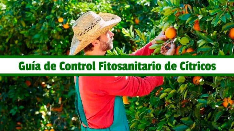 Guía de Control Fitosanitario de Cítricos PDF - Cultivando Flores