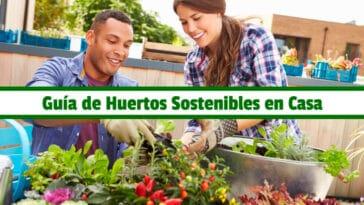 Guía de Huertos Sostenibles en Casa PDF - Cultivando Flores